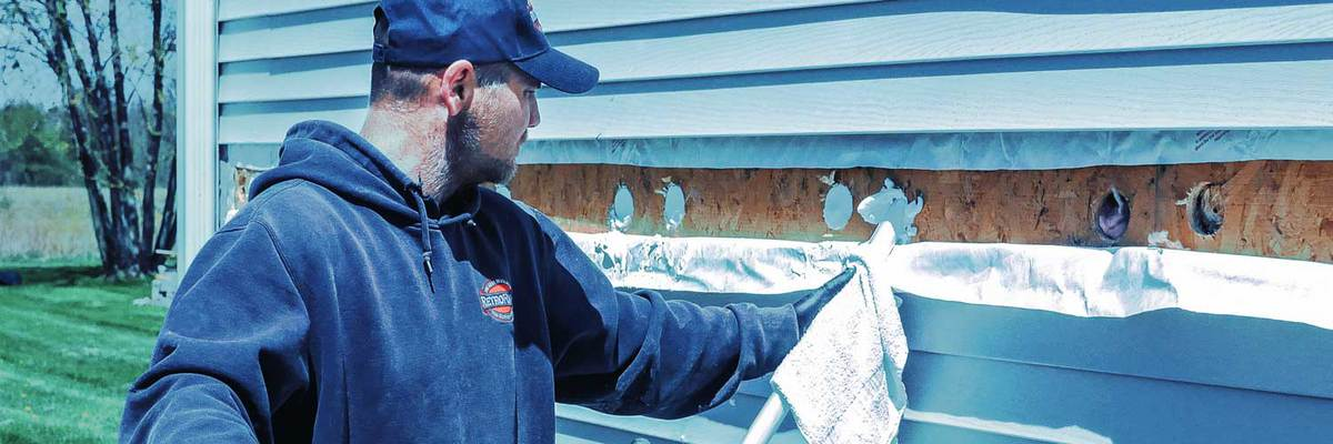 injectable foam insulation for existing homes